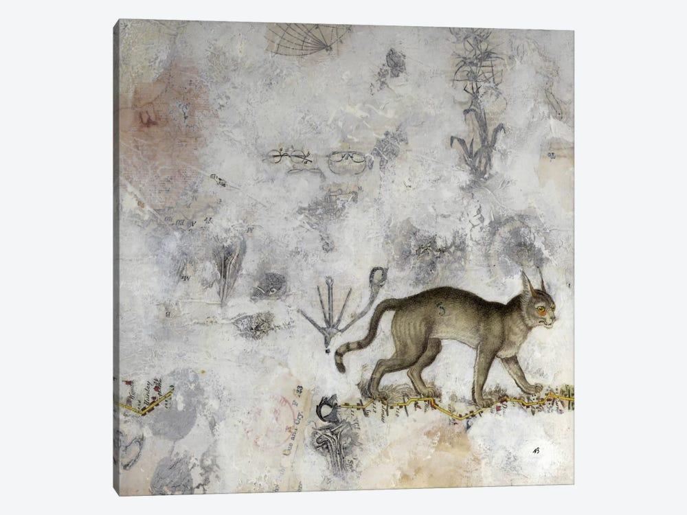 Lynx by Nick Bantock 1-piece Canvas Art Print