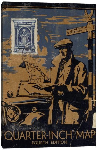 Mapman Canvas Art Print