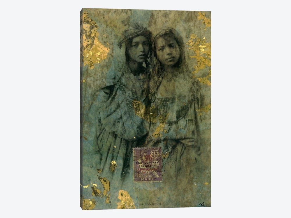 Mauresque Sisters by Nick Bantock 1-piece Canvas Print