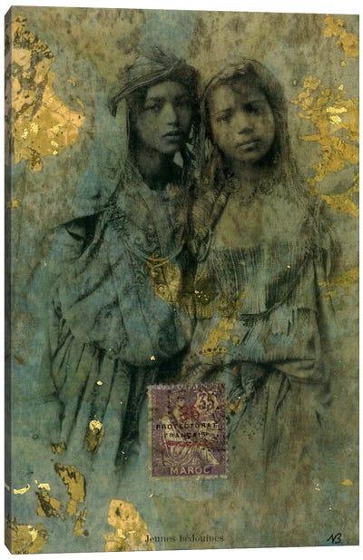 Mauresque Sisters Canvas Art Print