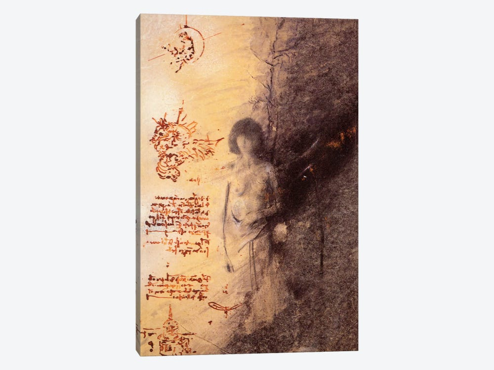 Missing Leonardo by Nick Bantock 1-piece Canvas Print