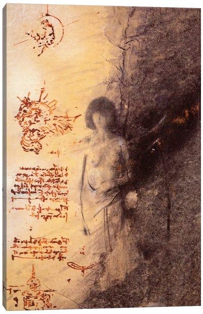 Missing Leonardo Canvas Art Print