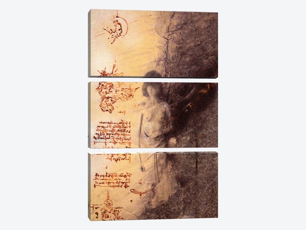 Missing Leonardo by Nick Bantock 3-piece Art Print