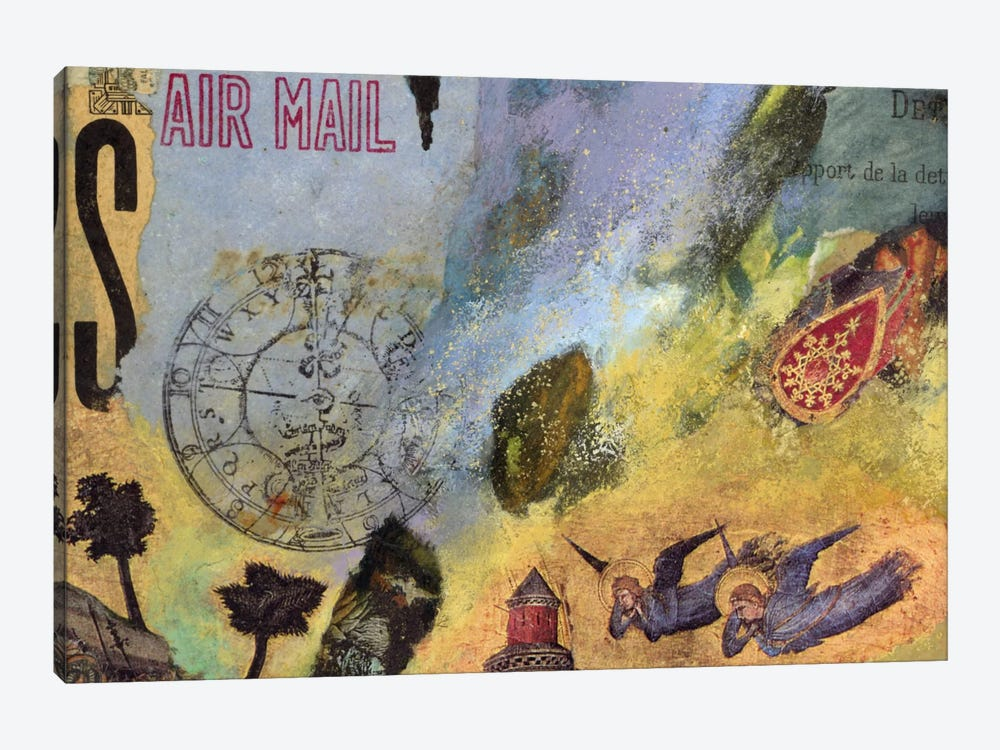 Air Mail by Nick Bantock 1-piece Canvas Artwork