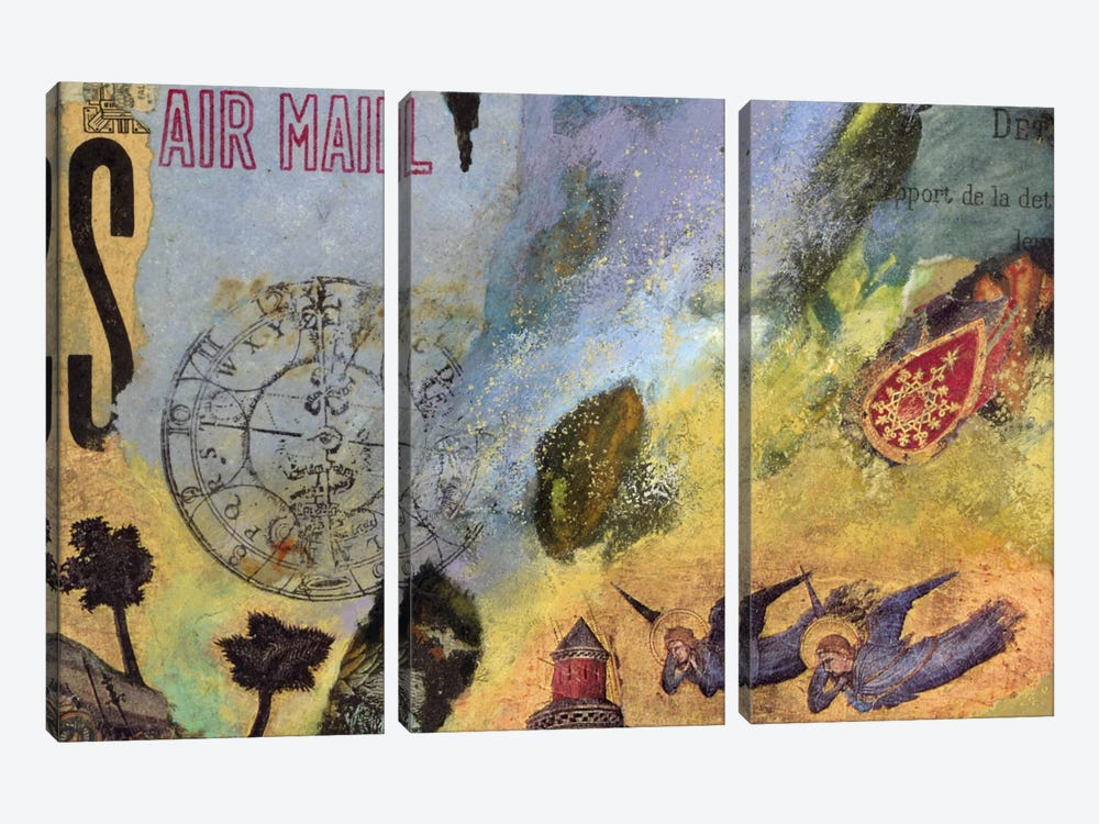 Air Mail by Nick Bantock 3-piece Canvas Art