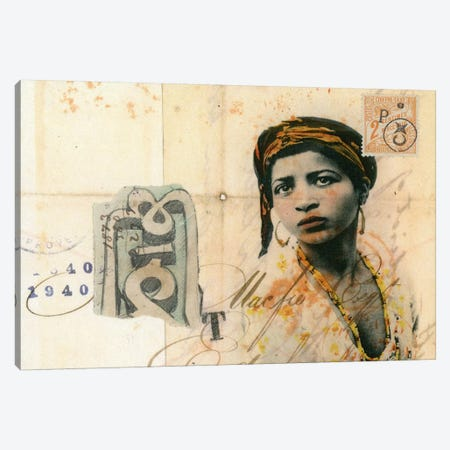 Ronda Maur Canvas Print #NBK55} by Nick Bantock Canvas Artwork