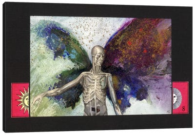 Skeleton Canvas Art Print
