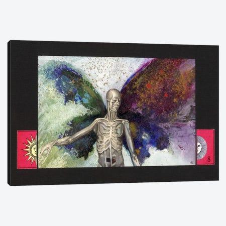 Skeleton Canvas Print #NBK57} by Nick Bantock Canvas Wall Art