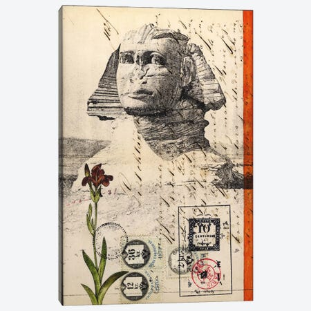 Sphinx Canvas Print #NBK58} by Nick Bantock Canvas Art Print
