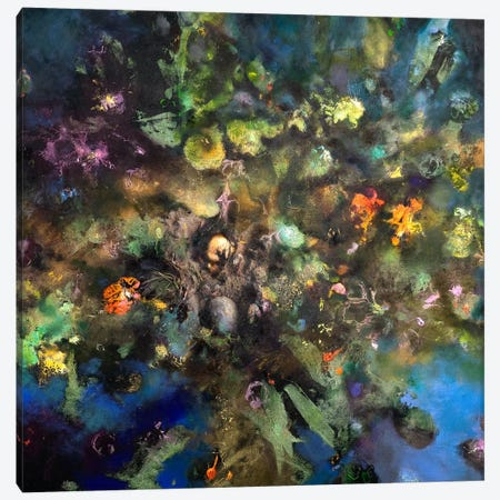 Tree Of Life Canvas Print #NBK61} by Nick Bantock Canvas Artwork