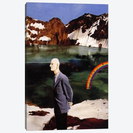 Wicklow Canvas Print #NBK63} by Nick Bantock Canvas Art