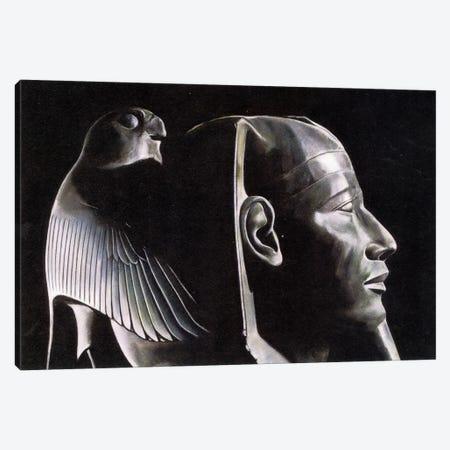 Black Malt Falcon Canvas Print #NBK9} by Nick Bantock Canvas Art Print