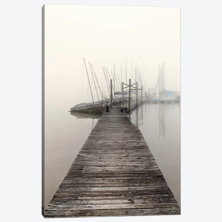 Harbor Fog Canvas Print #NBP2} by Nicholas Bell Photography Art Print