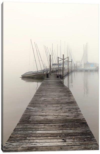 Harbor Fog Canvas Art Print