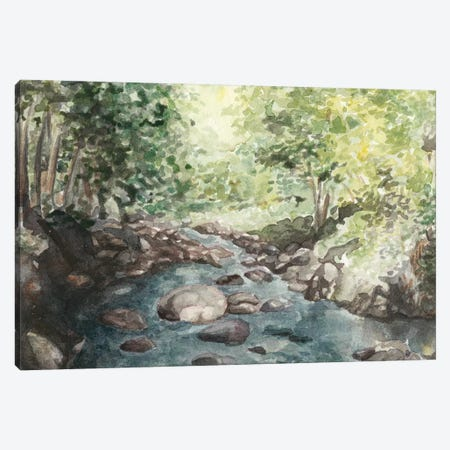 Virginia Woods IV Canvas Print #NCH12} by Natasha Chabot Canvas Art Print