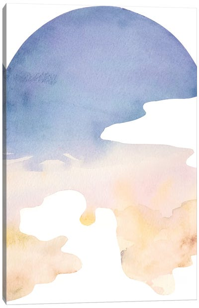Cross Country Abstraction IV Canvas Art Print