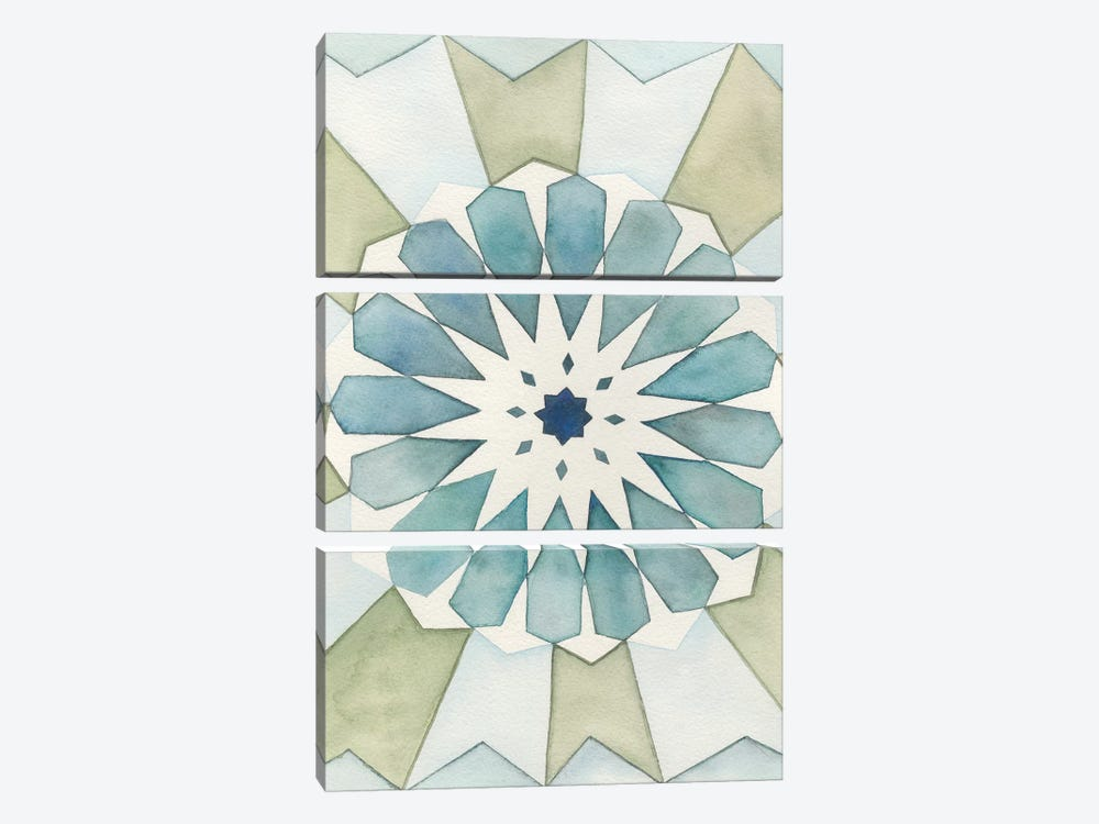 Moorish Panel I by Natasha Chabot 3-piece Art Print