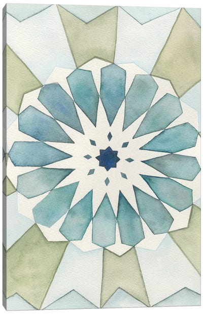 Moorish Panel I Canvas Art Print