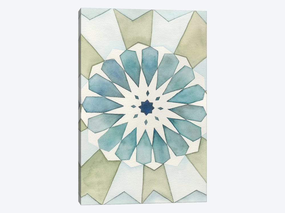 Moorish Panel I by Natasha Chabot 1-piece Canvas Art Print