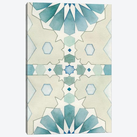 Moorish Panel II Canvas Print #NCH4} by Natasha Chabot Canvas Art