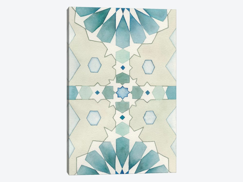 Moorish Panel II by Natasha Chabot 1-piece Canvas Wall Art