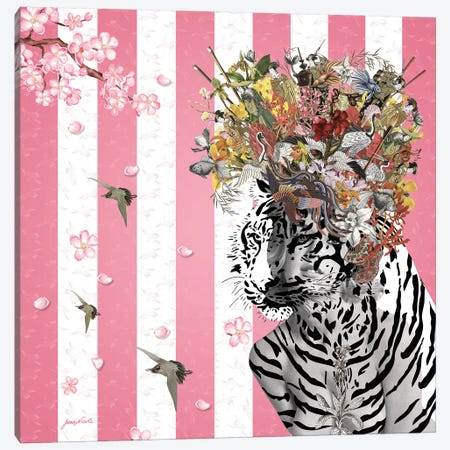 Animal Attraction Suki III Canvas Print #NCL16} by Jana Nicole Canvas Wall Art