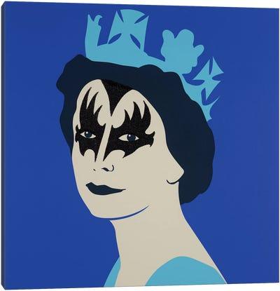 Kissed Blue Canvas Art Print