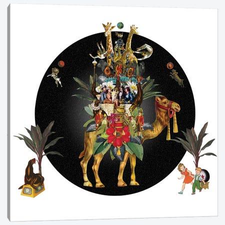 Cirque Des Enfants: Camel Training Canvas Print #NCL36} by Jana Nicole Canvas Art