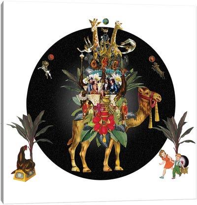 Cirque Des Enfants: Camel Training Canvas Art Print