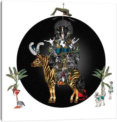 Cirque Des Enfants: Zebra Crossing Canvas Art Print