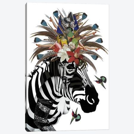 Animal Attraction Betty II Canvas Print #NCL4} by Jana Nicole Canvas Artwork