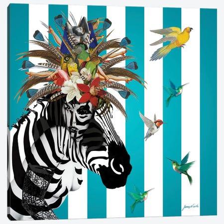 Animal Attraction Betty III 3-Piece Canvas #NCL5} by Jana Nicole Canvas Wall Art