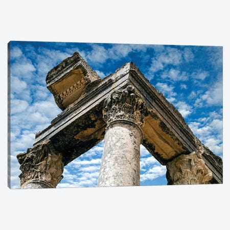 Roman Ruins Temple of Juno Caelestis, Dougga Archaeological Site, Tunisia Canvas Print #NCO5} by Nico Tondini Canvas Print