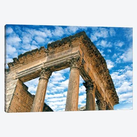 The Capitol, Dougga Archaeological Site, Tunisia I Canvas Print #NCO6} by Nico Tondini Art Print