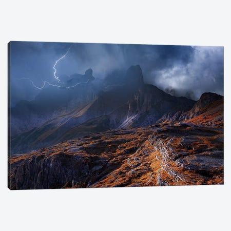 Bergwetter Canvas Print #NCS1} by Nicolas Schumacher Art Print