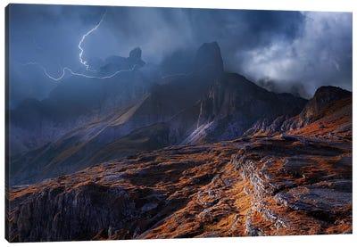 Bergwetter Canvas Art Print