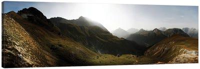 Nationalpark Schweiz Canvas Art Print