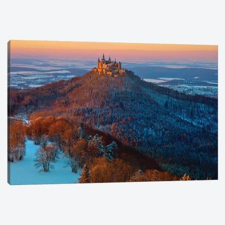Hohenzollern In Winter Mood Canvas Print #NCS7} by Nicolas Schumacher Canvas Artwork