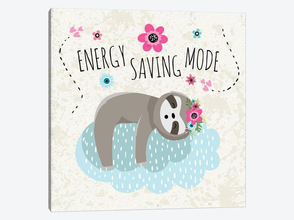 Energy Saving Mode by ND Art & Design 1-piece Canvas Print