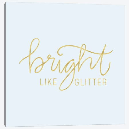 You Glow Girl I Canvas Print #NDD108} by Noonday Design Canvas Print