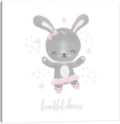 Ballerina Bunny I Canvas Art Print