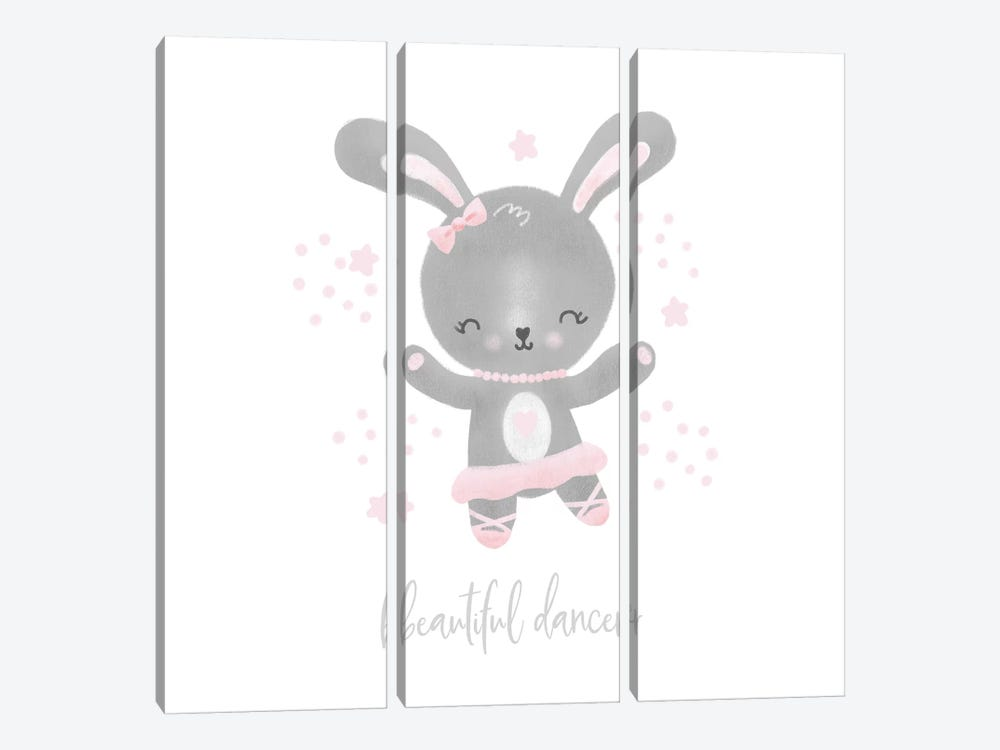 Ballerina Bunny I by Noonday Design 3-piece Art Print