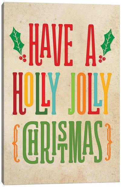 Colorful Christmas I Canvas Art Print