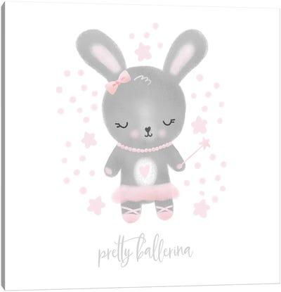 Ballerina Bunny III Canvas Art Print