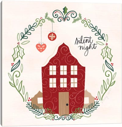 Hygge Christmas IV Canvas Art Print
