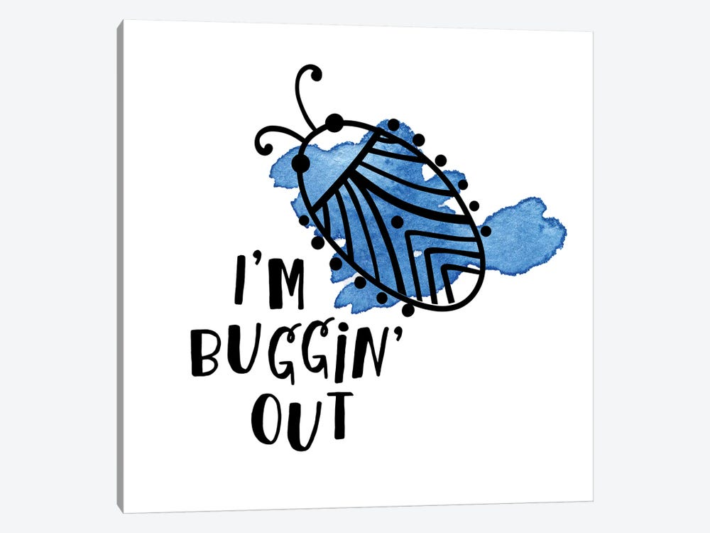 Buggin' Out II by Noonday Design 1-piece Canvas Wall Art