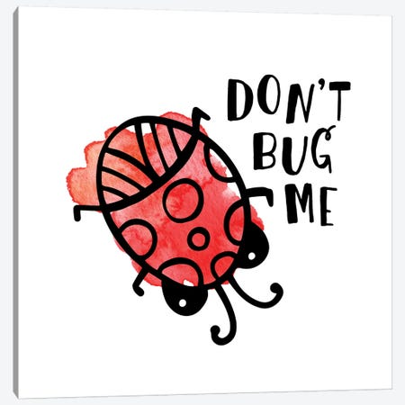 Buggin' Out III Canvas Print #NDD16} by Noonday Design Art Print