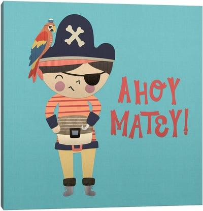 Ahoy Matey I Canvas Art Print