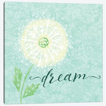 Dandelion Wishes I Canvas Print #NDD24} by Noonday Design Canvas Art