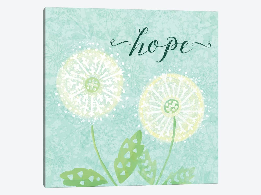 Dandelion Wishes II by Noonday Design 1-piece Art Print